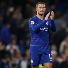 Europa League: Eden Hazard determined to end Chelsea days on a high as Real Madrid move beckons