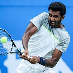 Pune Challenger tennis: Prajnesh extends unbeaten run, beats Nedovyesov to enter semis