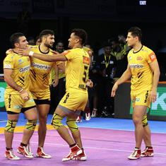 Pro-Kabaddi League: Telegu Titans beat Patna Pirates 35-31