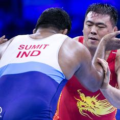 Wrestling world c'ships: Sumit to wrestle for bronze, others fail to impress in Budapest