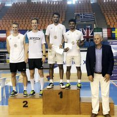 Hellas Open badminton: Indian doubles pairs win three titles, including two for Arjun MR