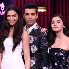 Nepotism, Deepika-Ranveer wedding and more in 'Koffee With Karan' season premiere