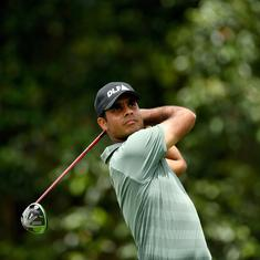 Golf: Shubhankar Sharma placed tied-32nd after first round of Turkish Airlines Open