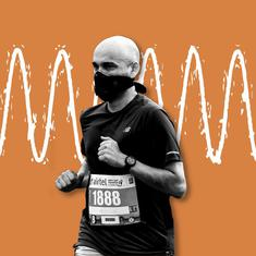Delhi Half Marathon's use of radio waves to try to curb air pollution leaves experts sceptical