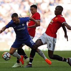 Premier League: Uncertainty around Pogba, Hazard's future adds intrigue to Man Utd vs Chelsea clash
