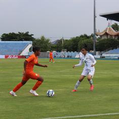 AFC Under-19 championships qualifiers: Substitute Renu scores five as India defeat Pakistan 18-0