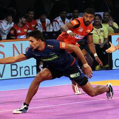 Pro Kabaddi League: Bengaluru Bulls defeat Haryana Steelers 42-34