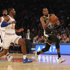 NBA: Kevin Durant shows New York Knicks just what he's worth with 25-point fourth quarter