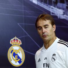 I don't think I'm going to die: Lopetegui looking forward to life as Real coach after El Clasico