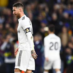 Football: Amid doping allegations and dip in form, Sergio Ramos adamant about upswing
