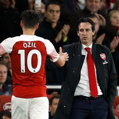 I didn't promise: Unai Emery not sure if 'improved' Mesut Ozil will feature for Arsenal