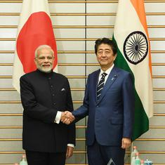 India, Japan sign agreement to provide supplies, services in defence sector