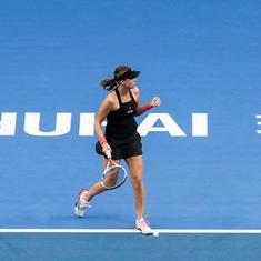 WTA Elite Trophy: Kontaveit downs defending champion Goerges in a three-set battle