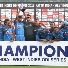 Kohli, Shastri heap praise on Khaleel and Rayudu after India's ODI series win over West Indies