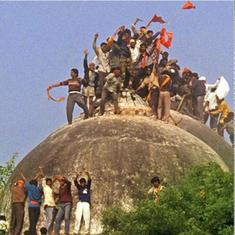 Ayodhya case: Muslim petitioners ask SC to restore Babri mosque, say they own the land