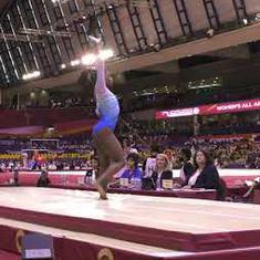 Watch: The performances that won Simone Biles a historic 4th World All-Around Gymnastics gold