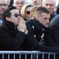 Vardy urges Leicester to 'do Vichai proud' in first game after helicopter tragedy