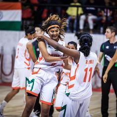 FIBA U-18 Women's Asian C'ship: India clinch Division A berth, China beat Japan to win title