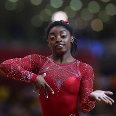 Gymnastics World C'ships: Simone Biles quietly confident of adding to her record tally of 14 golds
