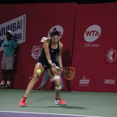 Inspired by Federer, Gasparyan's one-handed backhand was among the shots of Mumbai Open