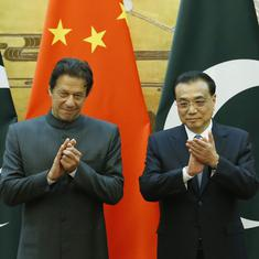 China expresses support for Pakistan's 'quest for peace through dialogue' with India