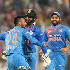 Krunal Pandya shows off match-winning traits while emulating brother Hardik on debut