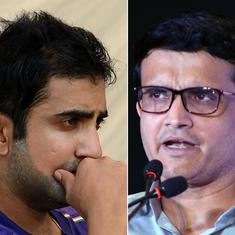 Gambhir slams Ganguly, BCCI for choosing Azhar to ring the bell at Eden Gardens