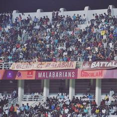 When it comes to attendance figures, is the I-League better than the ISL?