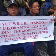 In poll-bound Mizoram, civil society groups are at war with the chief electoral officer