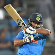 Rishabh Pant should play all ODIs against Australia at number four or five: Sunil Gavaskar