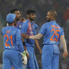 He took up the new-ball challenge: Skipper Rohit Sharma hails Khaleel Ahmed after Windies win