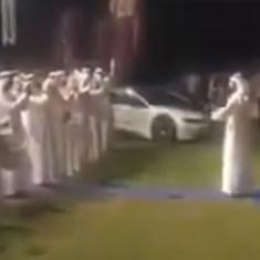 Watch: Dubai Police marching band plays the Indian national anthem during Diwali celebration