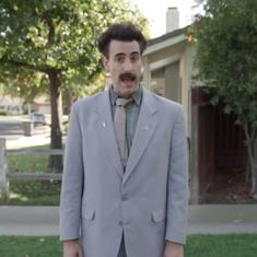 Watch: Sacha Baron Cohen's Borat reappears during US midterm polls to 'do election tampering'