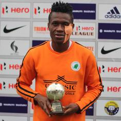 I-League: Chidi's brace against Real Kashmir helps Neroca FC record first win of the season