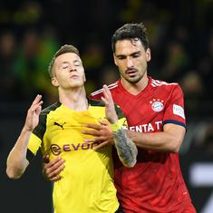 Football: Bayern defender Hummels blames illness for poor display in 2-3 loss to Borussia Dortmund