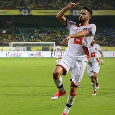 Indian Super League: Coro double gives Goa comfortable 3-1 away victory over Kerala Blasters