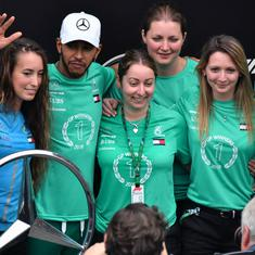 'Best moment I've had with this team': Hamilton hails Mercedes staff after Brazilian Grand Prix win