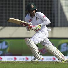 Cricket: Mushfiqur Rahim enjoying keeper-batsman dual role after double hundred against Zimbabwe