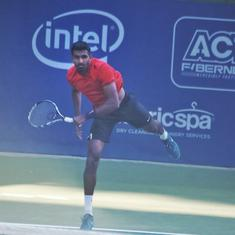 Bengaluru Open: Prajnesh storms into second round, Hossam shocks top-seed Albot