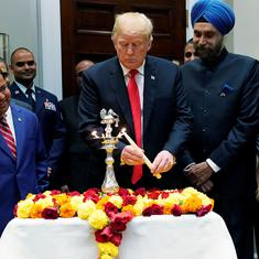 US: Donald Trump's Diwali tweet fails to mention Hindus, draws flak on social media