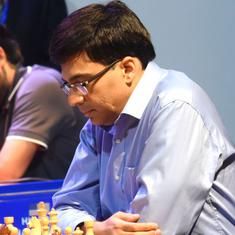 Tata Steel Chess: Anand beats Mamedyarov in eighth round to share lead with Carlsen