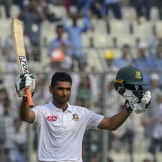 Mahmudullah, spinners put Bangladesh in driver's seat against Zimbabwe in 2nd Test
