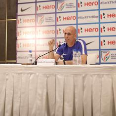 We are desperately trying to find new strikers: Stephen Constantine wants back-up for Sunil Chhetri