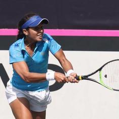 Fed Cup: Karman Kaur Thandi, Ankita Raina lose in straight sets as India go down 3-0 against Kazhaks