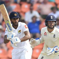 Roshen Silva's gritty 85 helps Sri Lanka take  46-run lead over England in 2nd Test