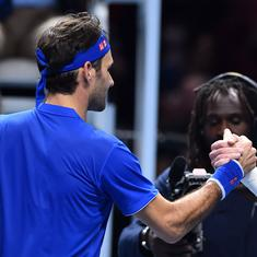 ATP Finals: Federer defeats Kevin Anderson 6-4, 6-3 to top group and qualify for semi-final