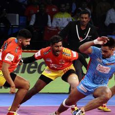 PKL: Prapanjan steers Gujarat Fortunegiants to 35-23 win over Bengal Warriors
