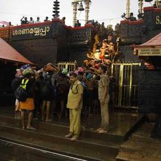 Sabarimala: Two women who attempted trek to hill shrine return after protests erupt