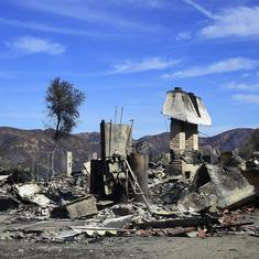 US: Toll in northern California wildfires up to 71 as more than 1,000 reported missing