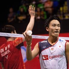 Hong Kong Open: World champion Kento Momota stunned by Son Wan Ho in semi-finals